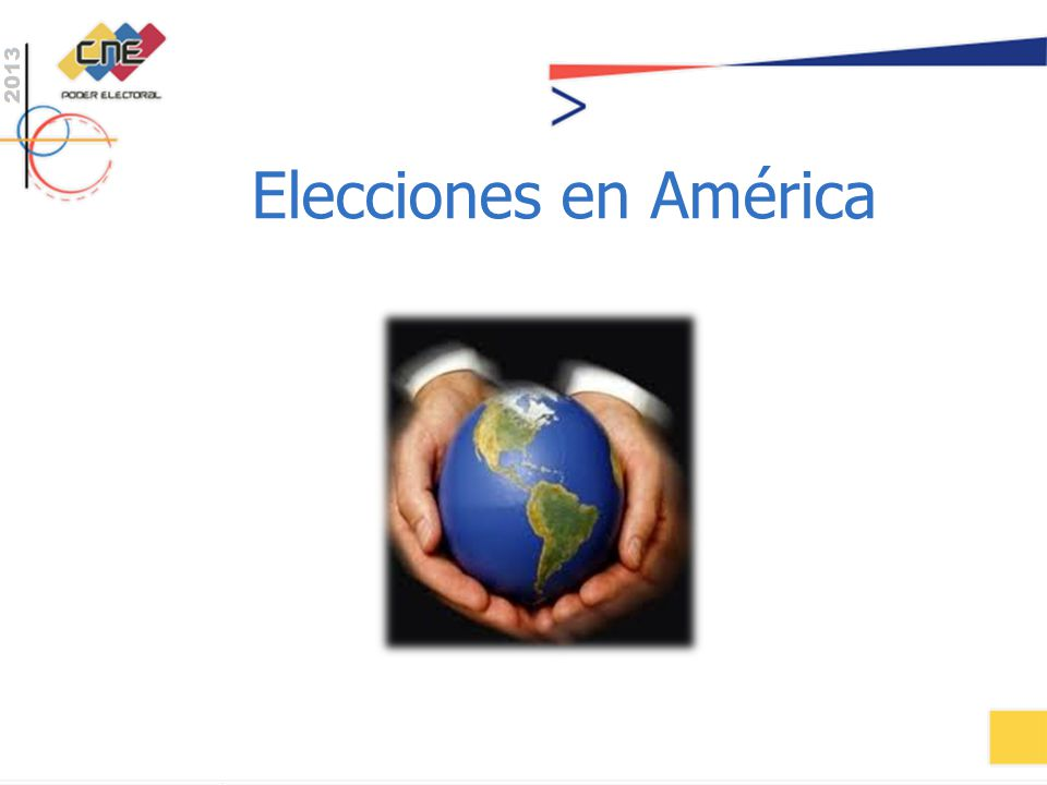 Elecciones en América
