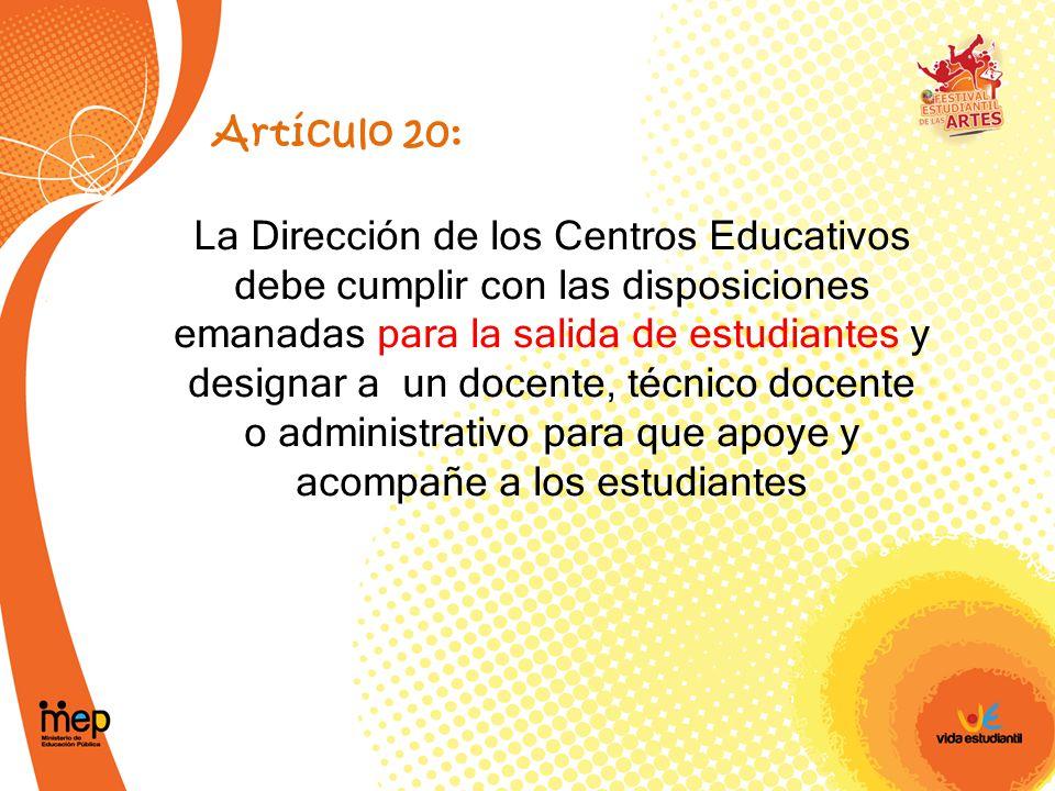 Artículo 20: