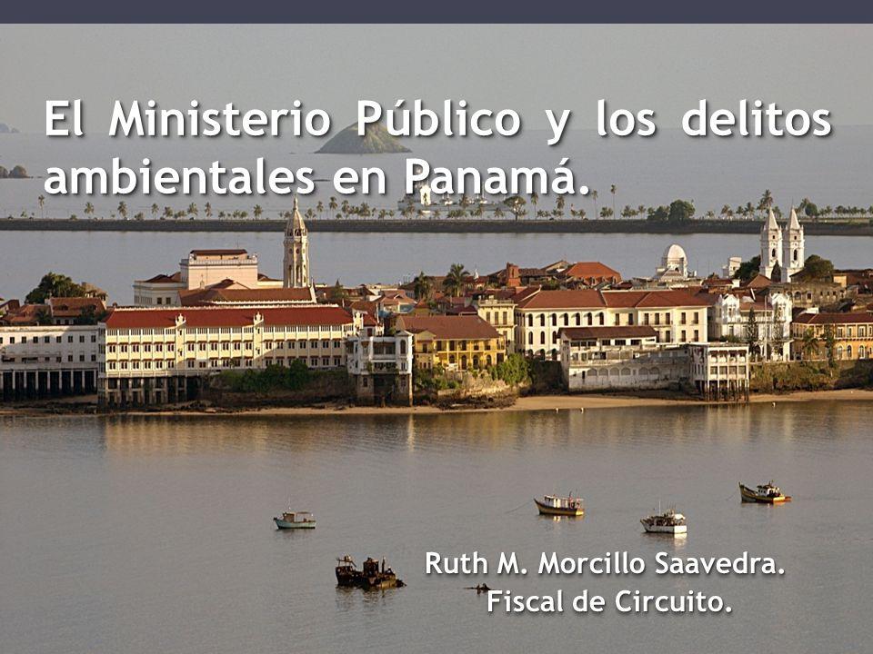 El Ministerio Público y los delitos ambientales en Panamá.