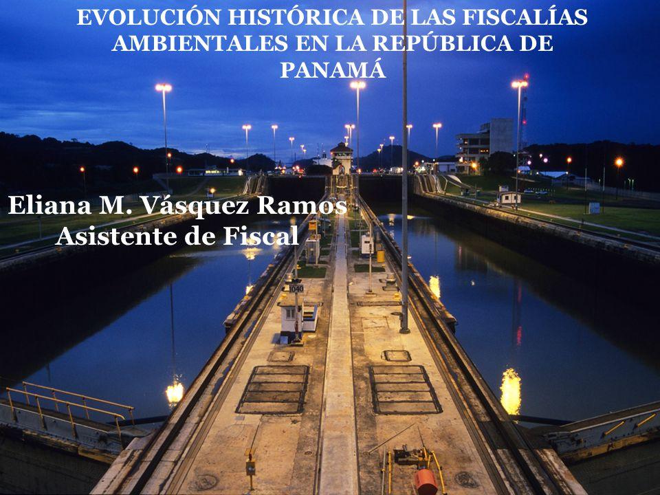 Eliana M. Vásquez Ramos Asistente de Fiscal