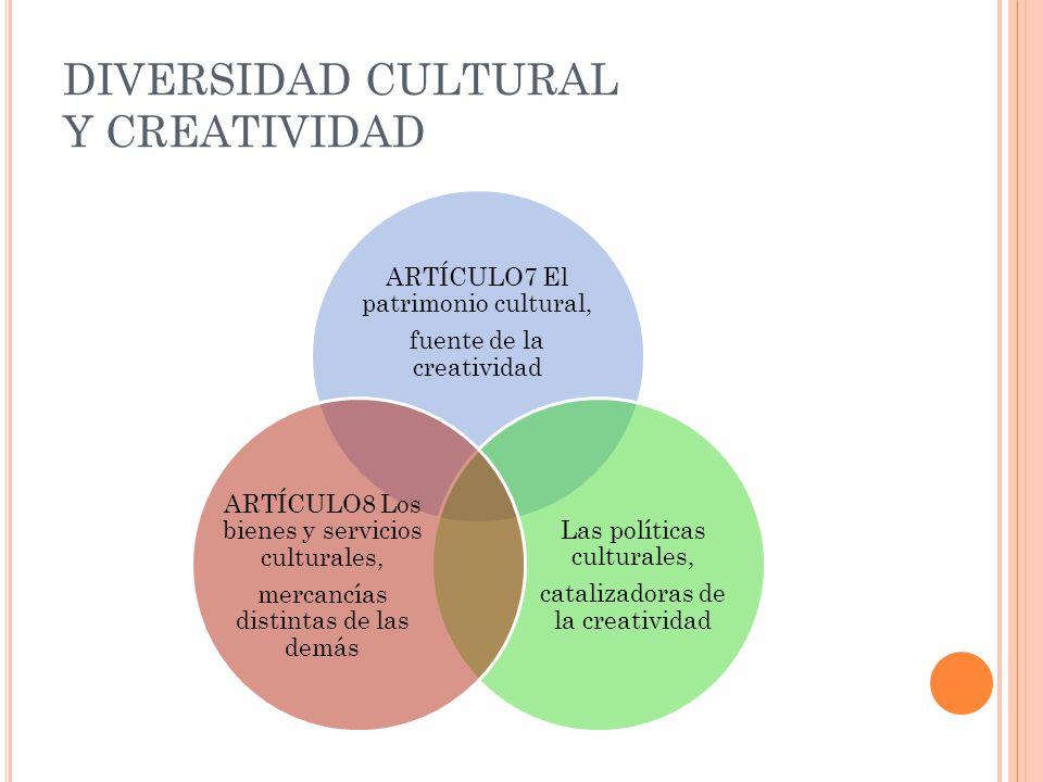DIVERSIDAD CULTURAL Y CREATIVIDAD