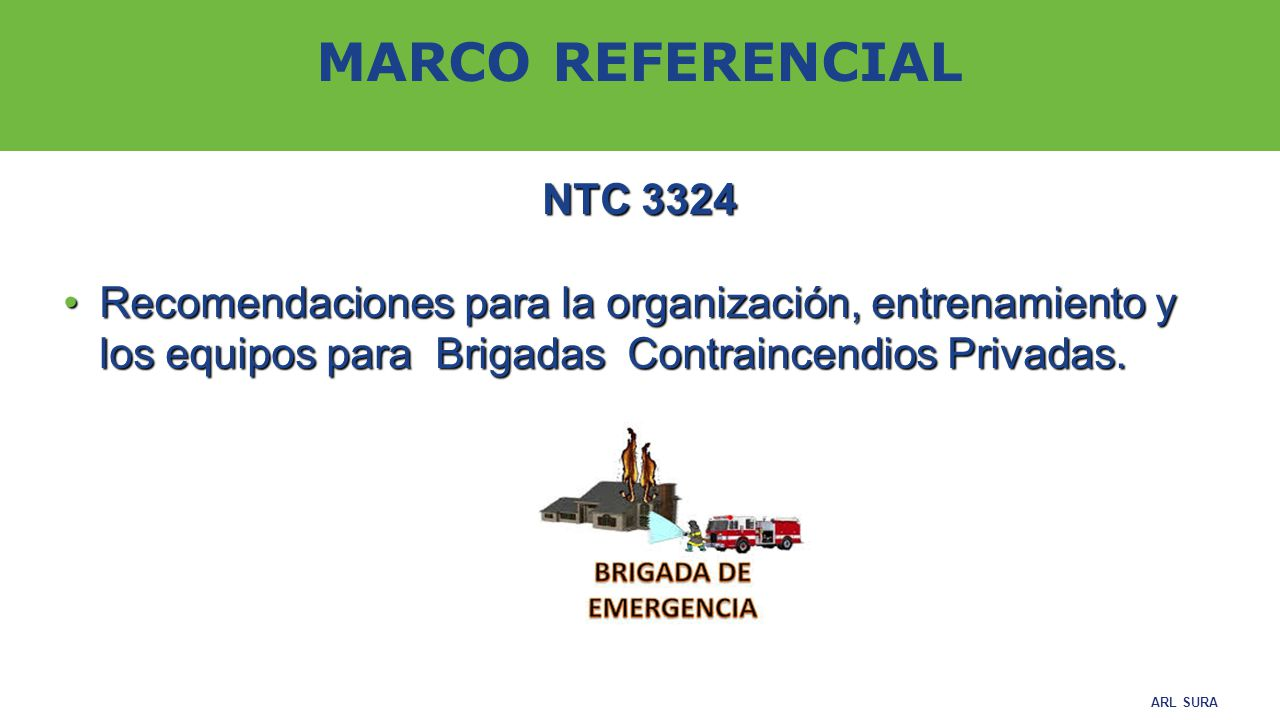 MARCO REFERENCIAL NTC 3324.