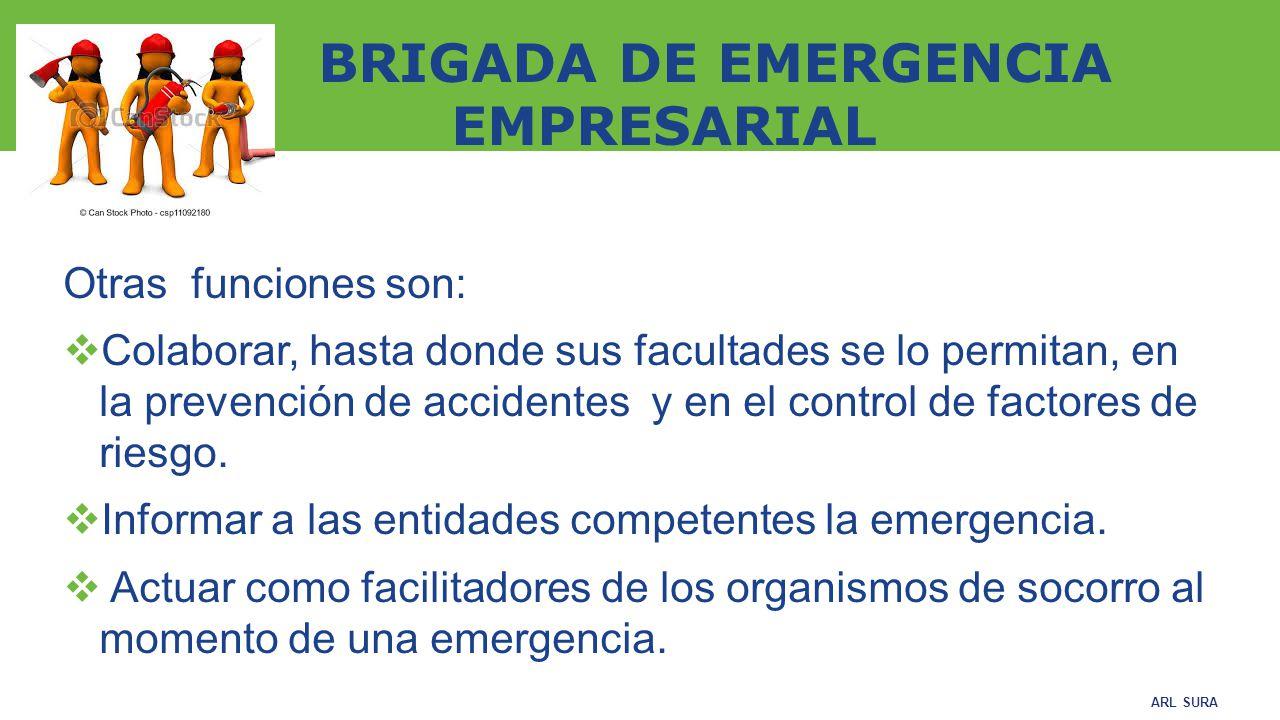 BRIGADA DE EMERGENCIA EMPRESARIAL