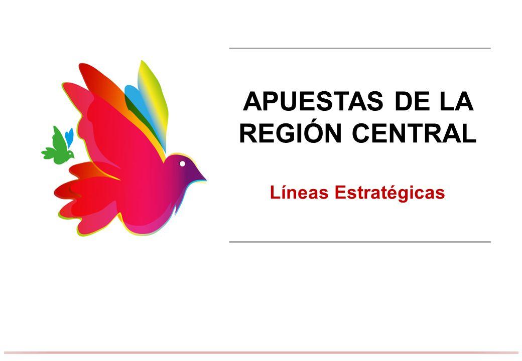 APUESTAS DE LA REGIÓN CENTRAL
