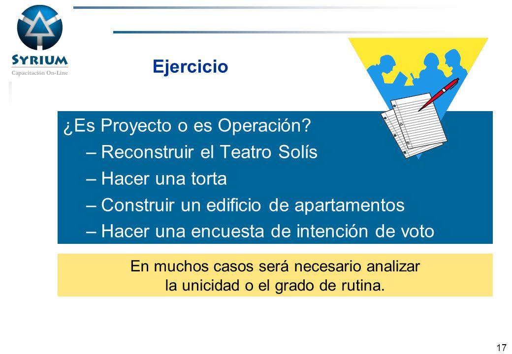 ¿Es Proyecto o es Operación Reconstruir el Teatro Solís
