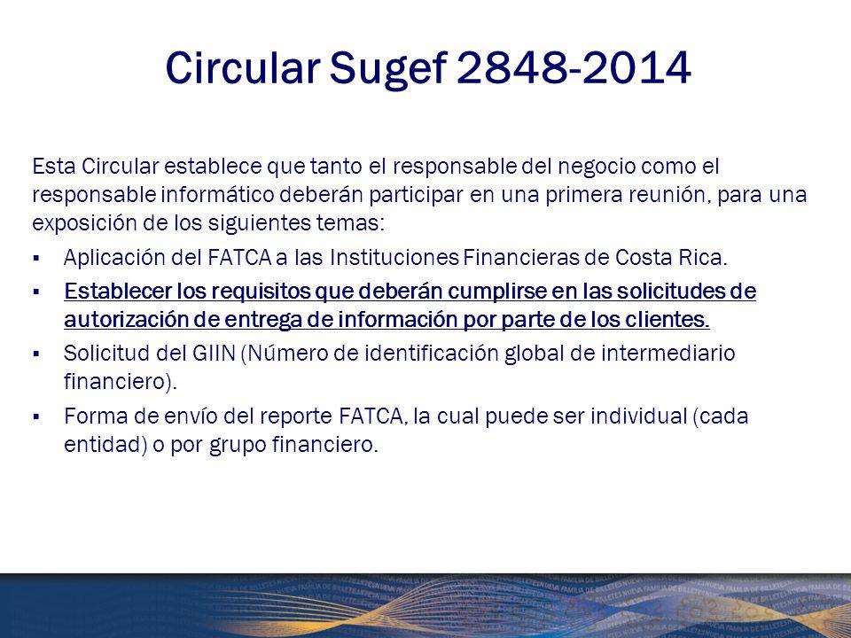 Circular Sugef 2848-2014