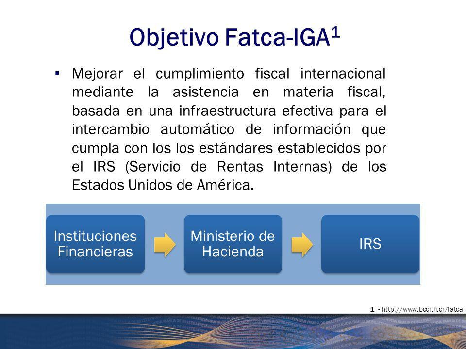 Objetivo Fatca-IGA1