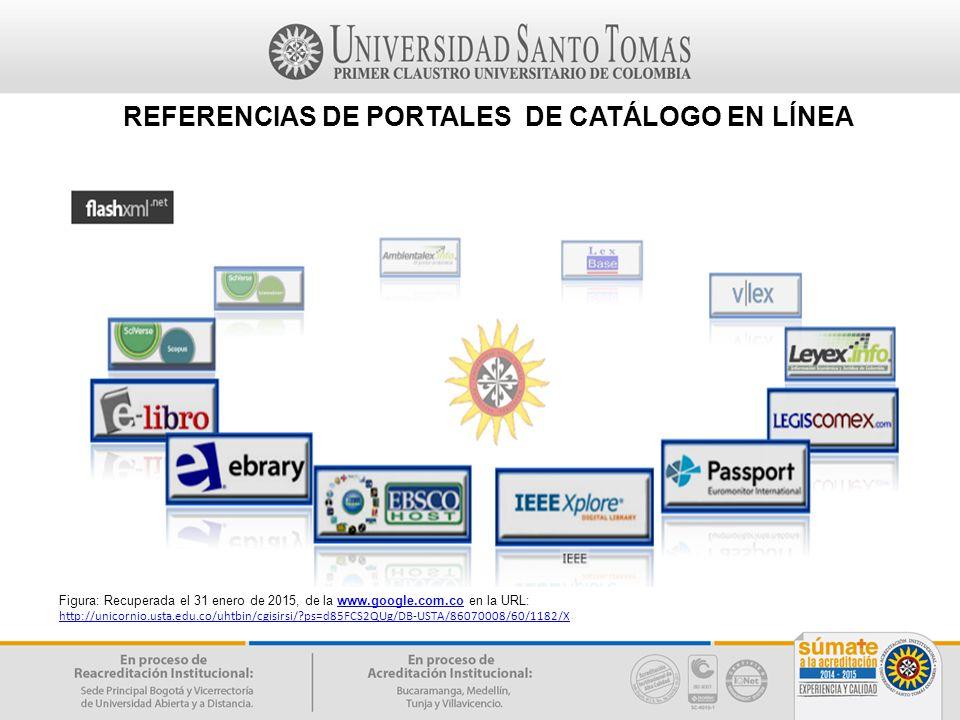 REFERENCIAS DE PORTALES DE CATÁLOGO EN LÍNEA