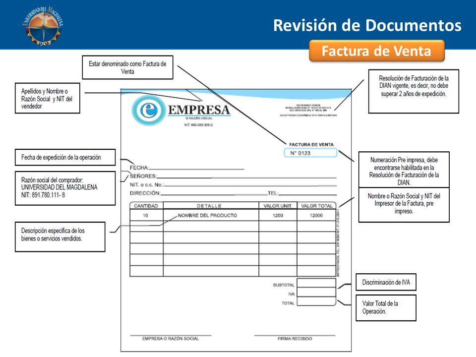 Revisión de Documentos
