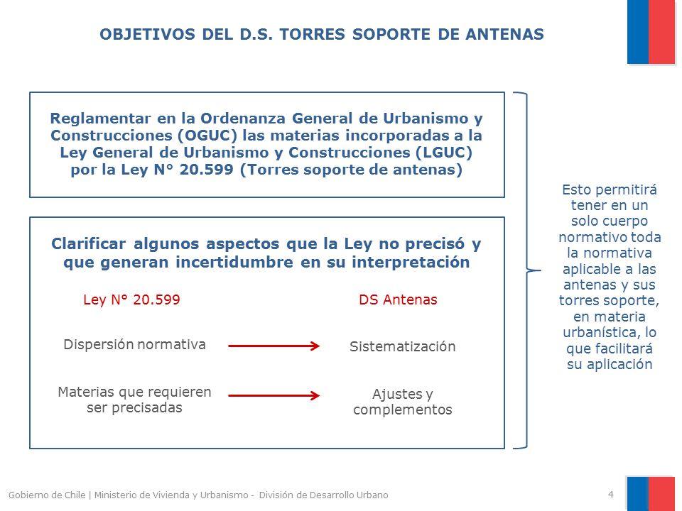 OBJETIVOS DEL D.S. TORRES SOPORTE DE ANTENAS