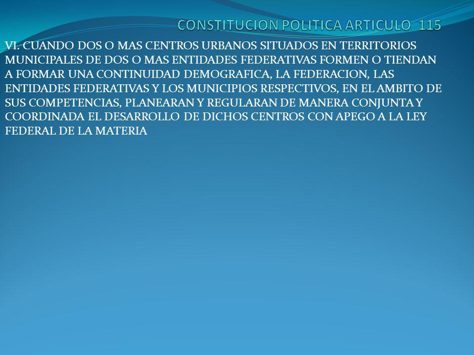 CONSTITUCION POLITICA ARTICULO 115