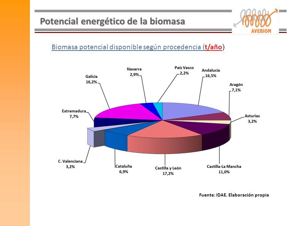Potencial energético de la biomasa