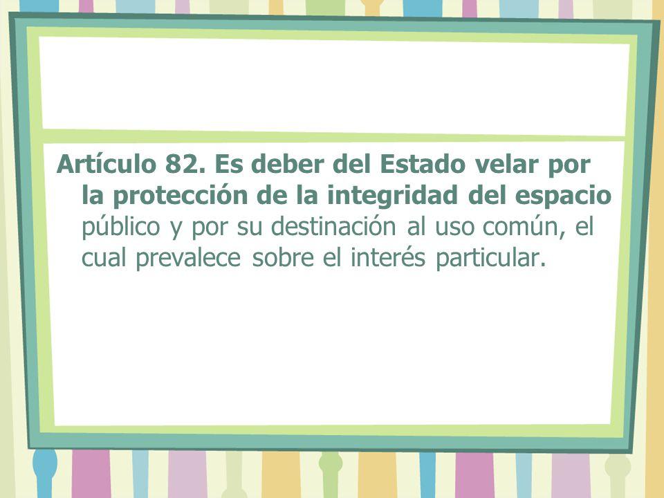 Artículo 82.