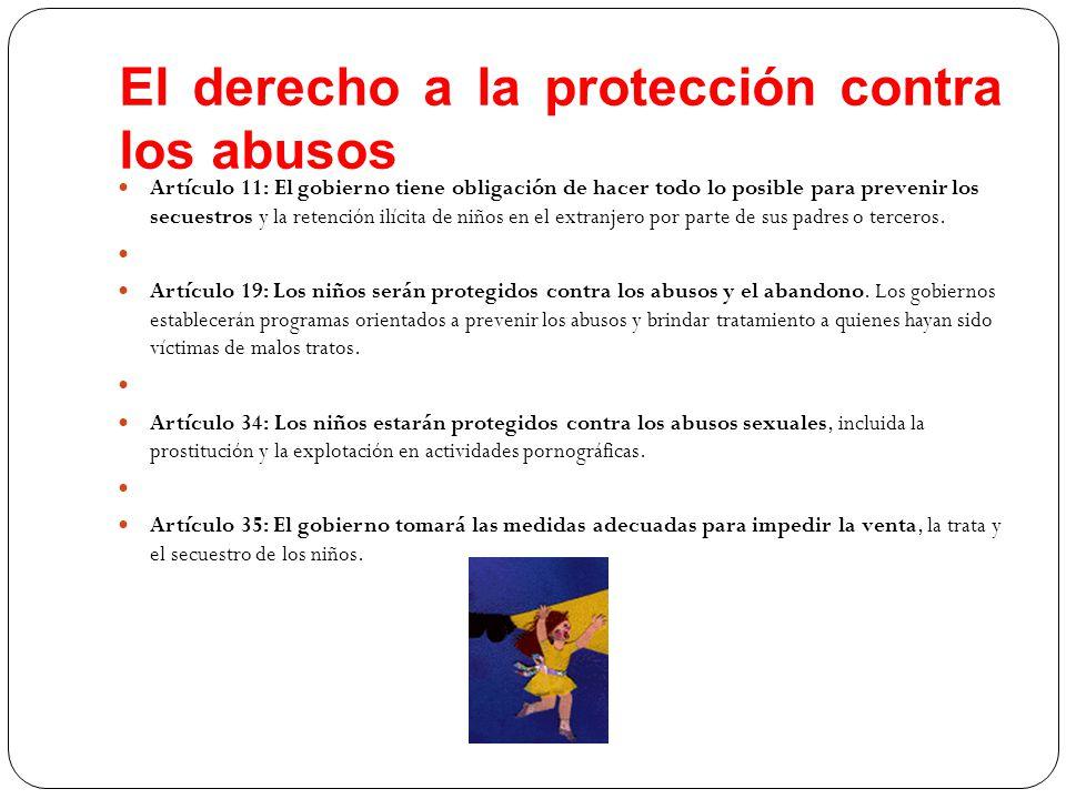 El derecho a la protección contra los abusos