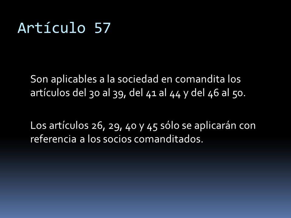 Artículo 57