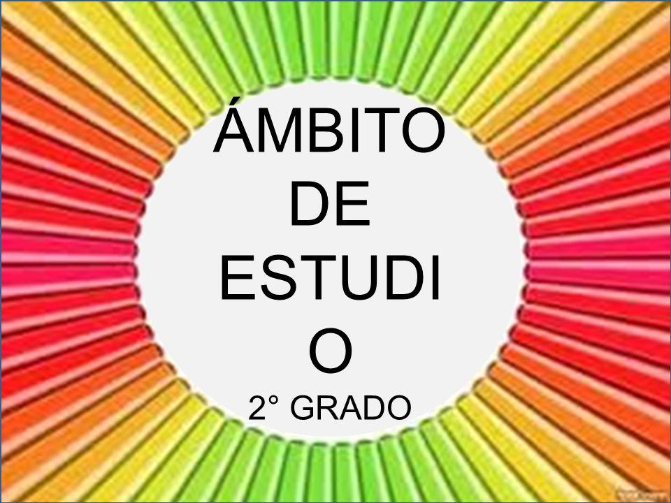 ÁMBITO DE ESTUDIO 2° GRADO