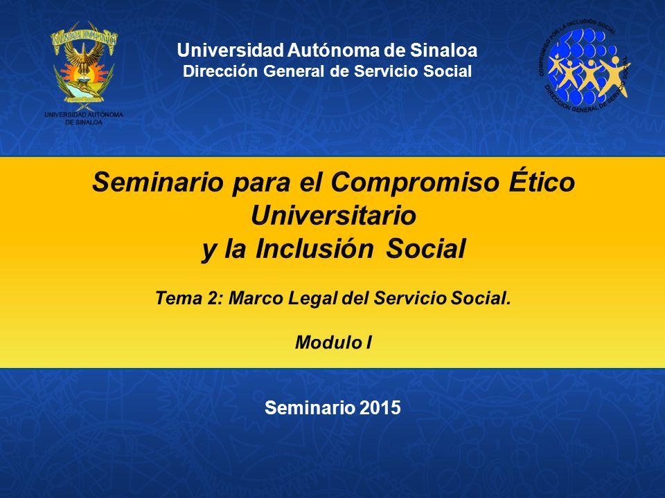 Seminario para el Compromiso Ético Universitario