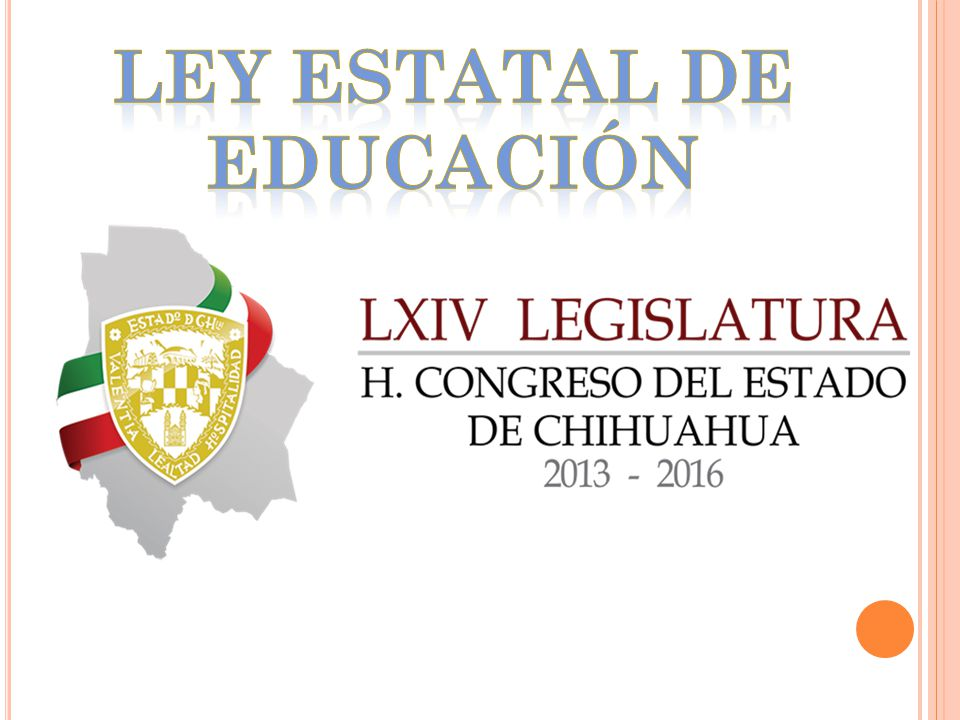 Ley Estatal de Educación