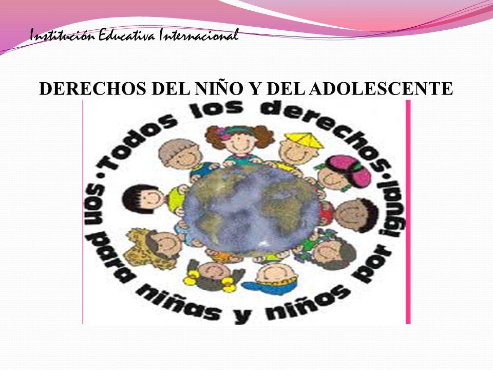 DERECHOS DEL NIÑO Y DEL ADOLESCENTE
