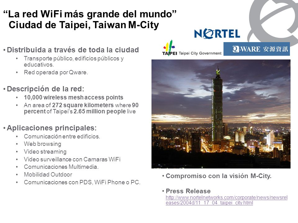 Nortel Corporate Presentation