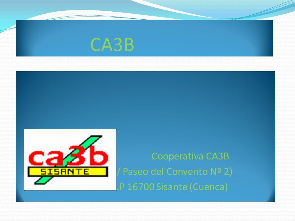CA3B Cooperativa CA3B C/ Paseo del Convento Nº 2)