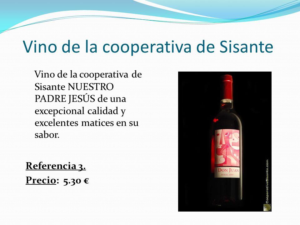 Vino de la cooperativa de Sisante