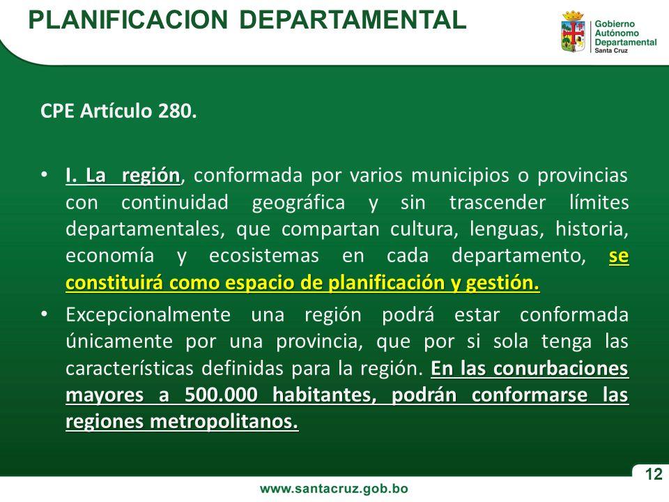 PLANIFICACION DEPARTAMENTAL