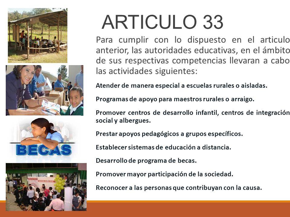 ARTICULO 33