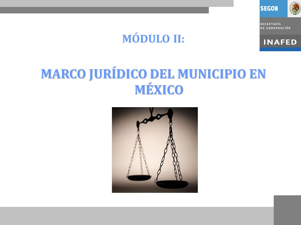 MARCO JURÍDICO DEL MUNICIPIO EN MÉXICO