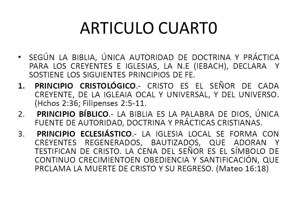 ARTICULO CUART0