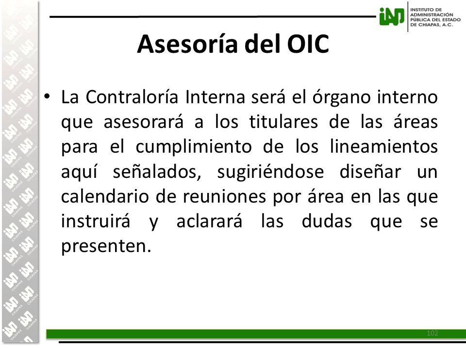 Asesoría del OIC