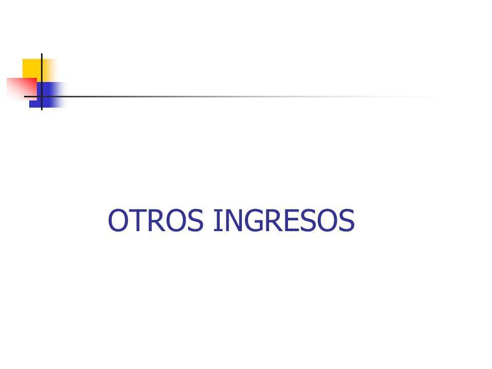 OTROS INGRESOS