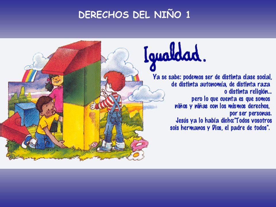 DERECHOS DEL NIÑO 1 Artículo 1º: