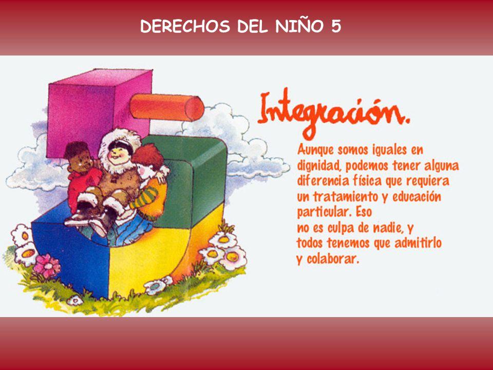 DERECHOS DEL NIÑO 5 Artículo 5º: