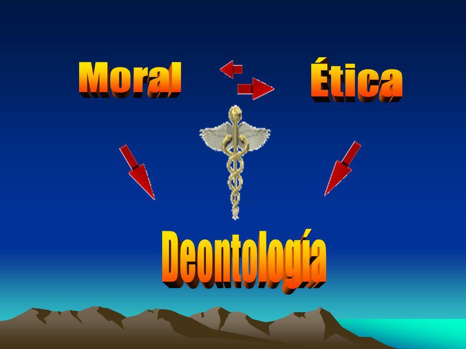 Deontología Ética Moral