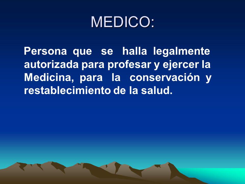 MEDICO: