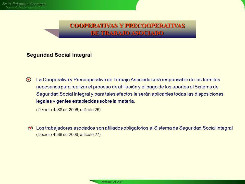 COOPERATIVAS Y PRECOOPERATIVAS