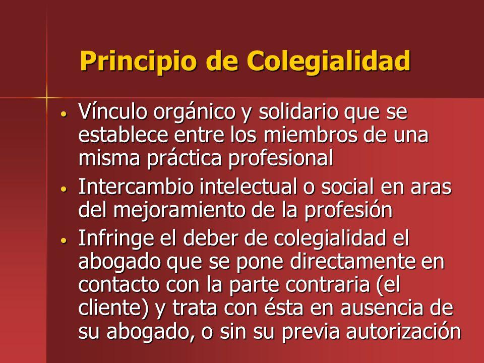 Principio de Colegialidad