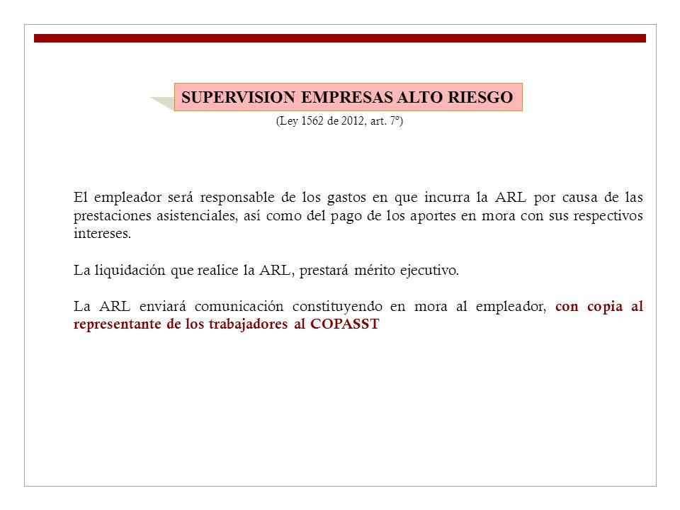 SUPERVISION EMPRESAS ALTO RIESGO