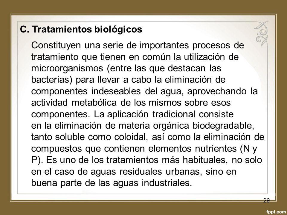 C. Tratamientos biológicos