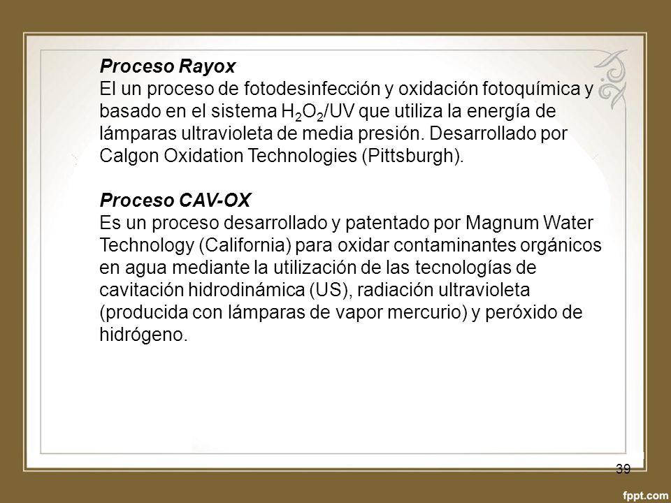 Proceso Rayox