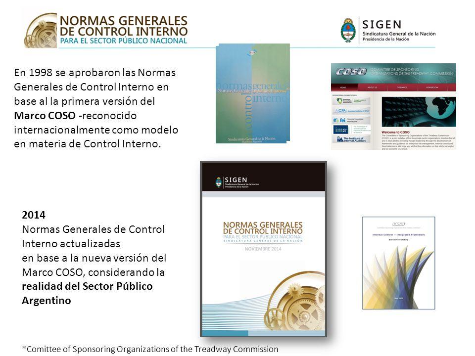 Normas Generales de Control Interno actualizadas
