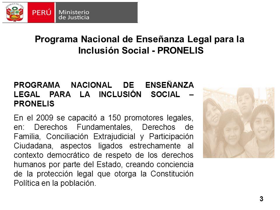 Programa Nacional de Enseñanza Legal para la