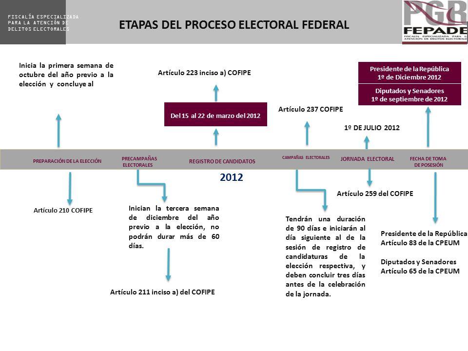 ETAPAS DEL PROCESO ELECTORAL FEDERAL