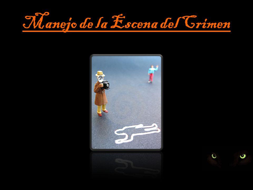 Manejo de la Escena del Crimen