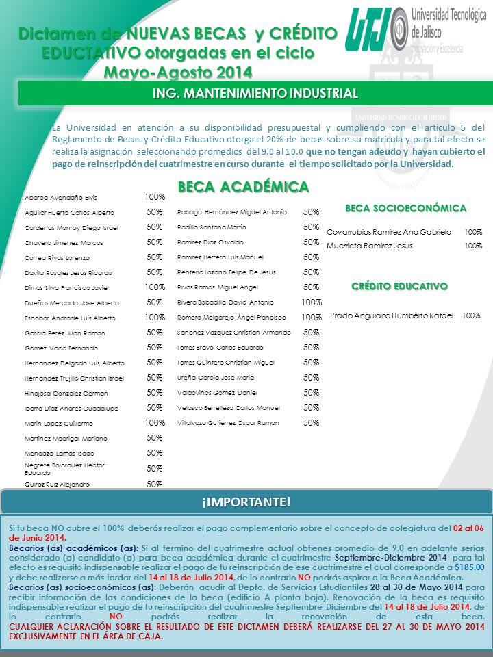ING. MANTENIMIENTO INDUSTRIAL