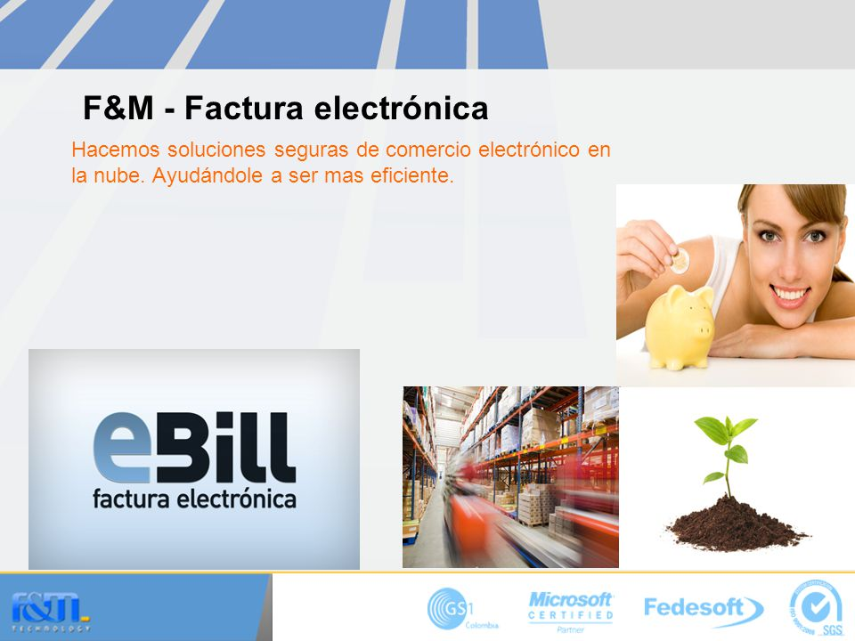 F&M - Factura electrónica