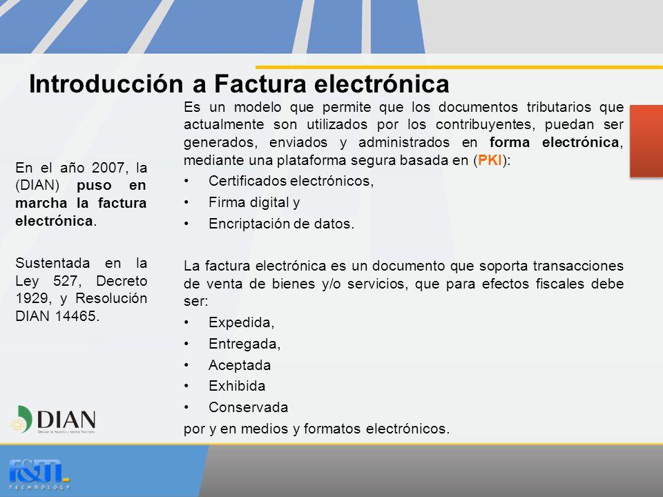 Introducción a Factura electrónica