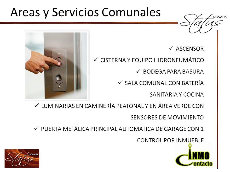Areas y Servicios Comunales
