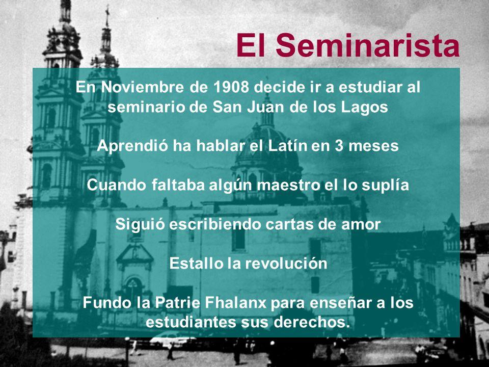 El Seminarista.